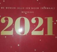 Harmonievereniging Barendrecht wenst iedereen en mooi en muzikaal 2021
